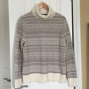 NWT 100% Cashmere Cowl Sweater by Land's End